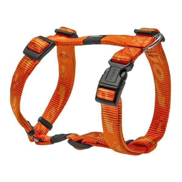 rogz Hundegeschirr Alpinist orange L (45-75cm) 20mm|M (32-52cm) 16mm|S (23-37cm) 11mm|XL (60-100cm) 25mm