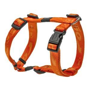 rogz Hundegeschirr Alpinist orange L (45-75cm) 20mm M (32-52cm) 16mm S (23-37cm) 11mm XL (60-100cm) 25mm