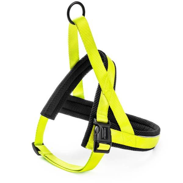 Freezack Hundegeschirr Nordic Basic neon gelb XS (40-53cm) 20mm