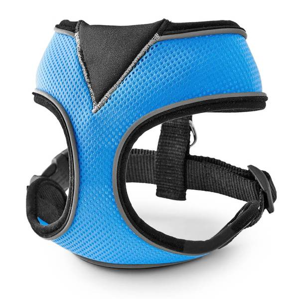 Freezack Hundegeschirr Soft Soi blau 3XS|4XS|L|M|S|XL|XS|XXL|XXS