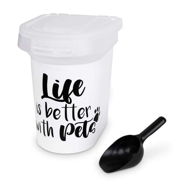 Freezack Storage Container Life is better with pets (14L)