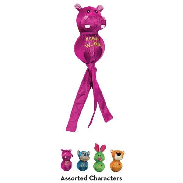 KONG Hundespielzeug Wubba Friends Ballistic assortiert L (35.5x9cm) S (24x5.5cm)