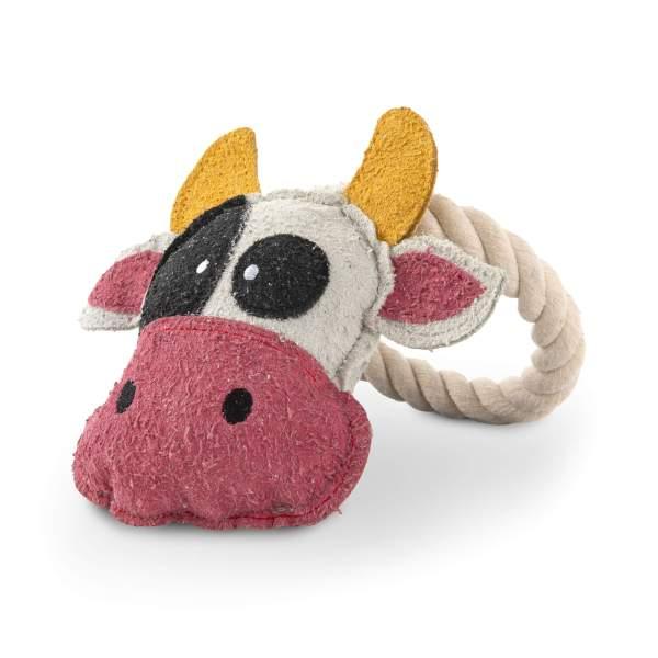 Freezack Hundespielzeug Cow Loop