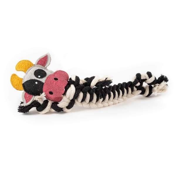 Freezack Hundespielzeug Cow Rope S