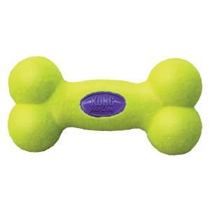 KONG Hundespielzeug Airdog Squeaker Bone L (23.5cm)|M (16cm)|S (11.5cm)