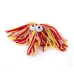 rogz Mop Monster rot/gelb (9cm)