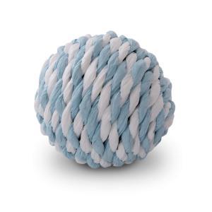 rogz Paper Rope Ball blau/weiss (4cm)
