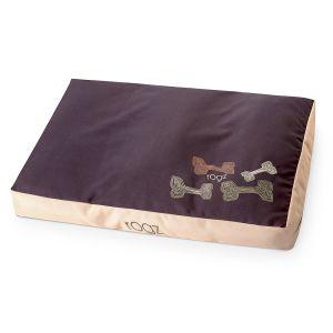 rogz Hundebett Flat Spice Podz Mocha Bone 107x72x11cm|129x86x12cm|83x56x10cm
