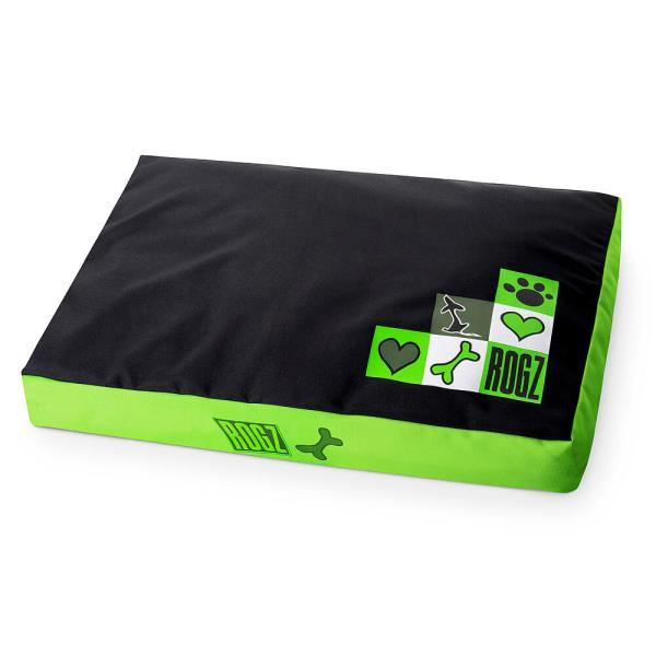 rogz Hundebett Flat Spice Podz Lime Juice grün 107x72x11cm|129x86x12cm|83x56x10cm