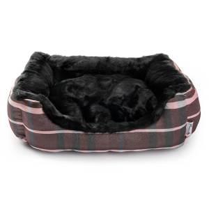 Freezack Hundesofa Mink Stripe eckig M (60x53x16cm)|S (47x41x14cm)