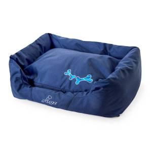 rogz Hundebett Spice Podz Navy Zen blau 56x35x22cm|72x45x25cm|88x55x26cm