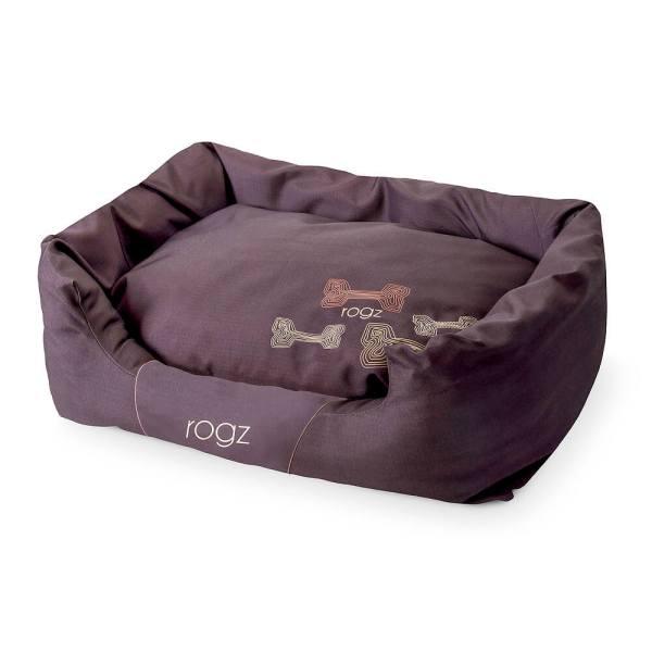 rogz Hundebett Spice Podz Mocha Bone braun 56x35x22cm|72x45x25cm|88x55x26cm