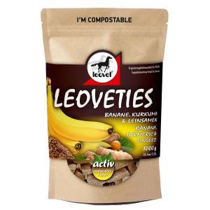 Leovet Leoveties Banane, Kurkuma und Leinsamen (1kg)