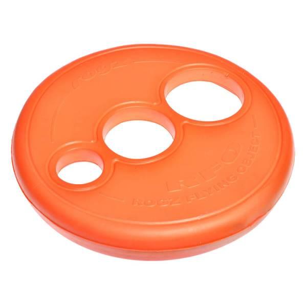 rogz Hundefrisbee Flying Floating Frisbee orange