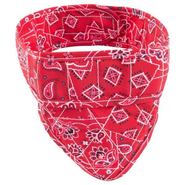 Aqua Coolkeeper Bandana Red Western Halstuch L (53-60cm)|M (44-52cm)|S (34-43cm)|XL (61-70cm)|XS (26-33cm)|XXS (19-25cm)