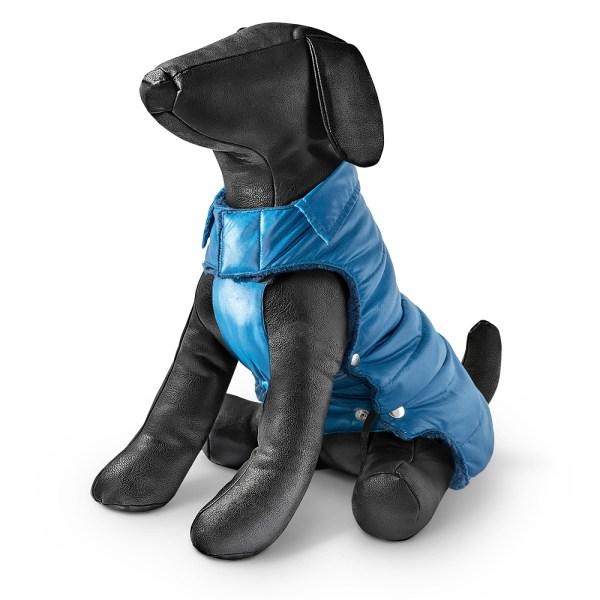 Freezack Hundemantel Moncler blau 20cm|22cm|25cm|28cm|32cm|36cm|40cm