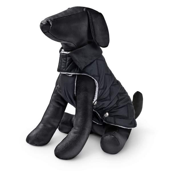 Freezack Hundemantel Lyle schwarz 20cm|22cm|25cm|28cm|32cm|36cm|40cm