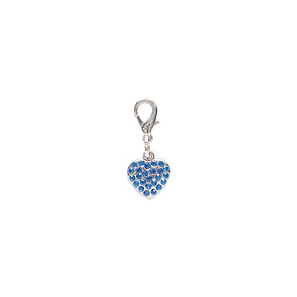 Dog Jewellery Heart blau