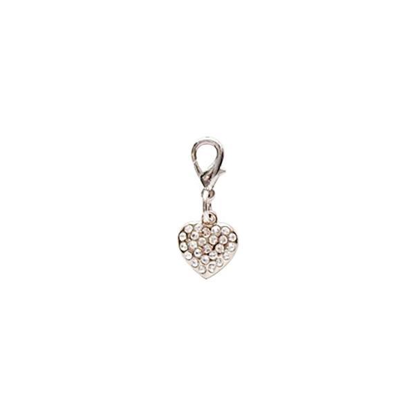 Dog Jewellery Heart weiss