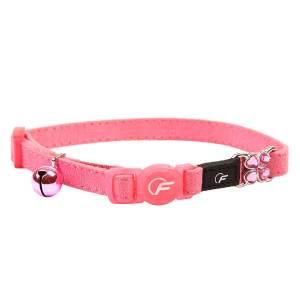 Freezack Katzenhalsband Suede pink (K)