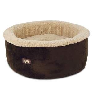 All For Paws Lambswool Curl & Cuddle Bed