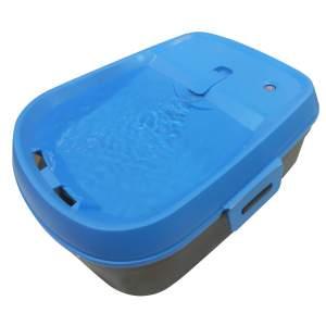 H2O DogH2O Kabelloser Trinkbrunnen für Hunde blau (6 L)