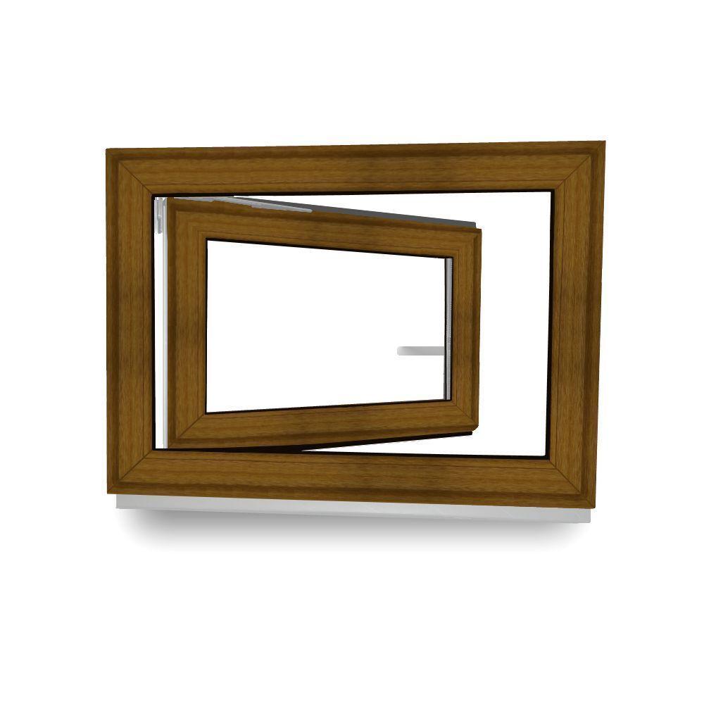 Golden Oak Katzenklape Fenster