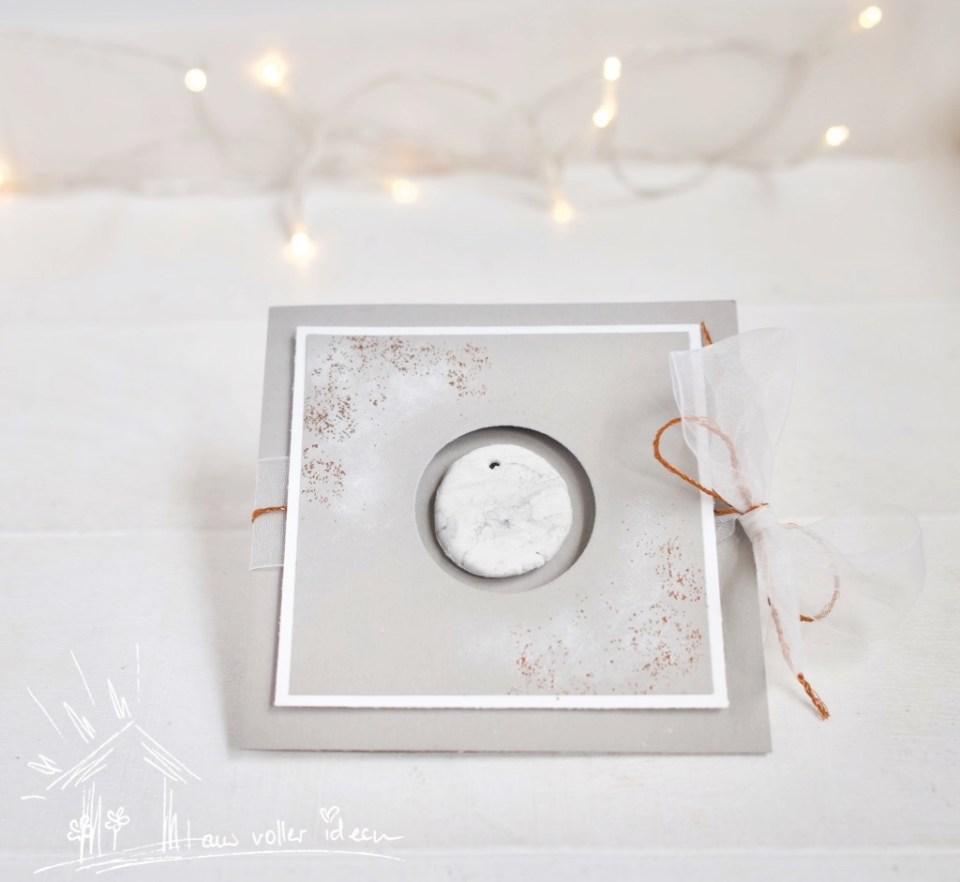 Weihnachtshop mit Herz für alle - Blog Hop zur Winter- und Weihnachtszeit; Anleitung zum Arbeiten mit Modelliermasse bzw. Silk Clay
