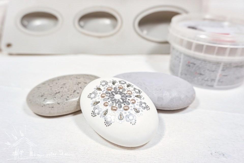 Sechs Möglichkeiten DIY Steine selbst zu gestalten.