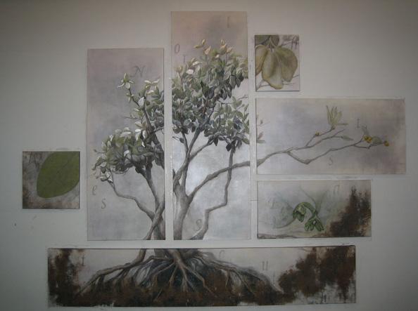 Mangrove in moonlight
