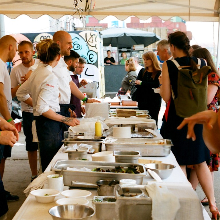 The street food party. Photo: Michael Anaya.