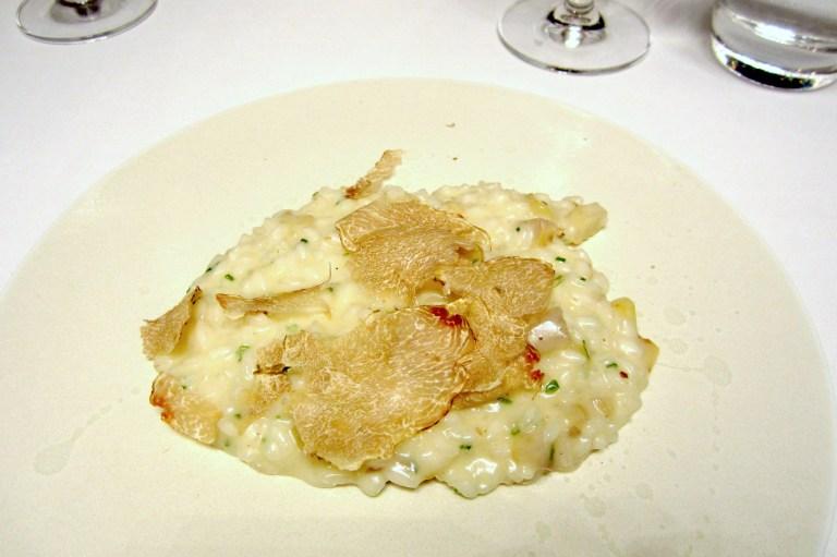 Vialone nano risotto with white Alba truffle