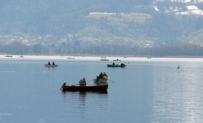 Peche Lac AnnecyHaute Savoiepermis Bateaupermis Du Bord