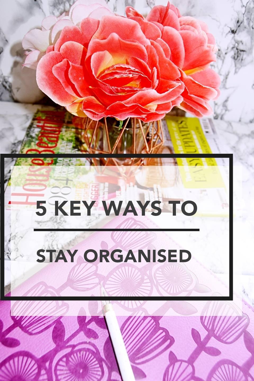 Key hacks to stay organised