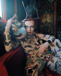 Tim Walker: Karen Elson wearing Stella McCartney for Vogue May 2015