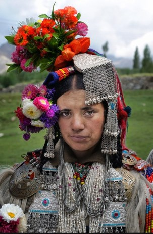 Drokpa lady, Ladakh, India.