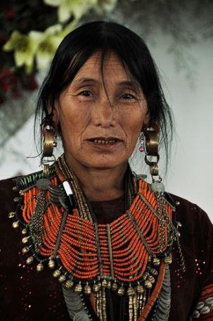 Nagaland tribes woman, India