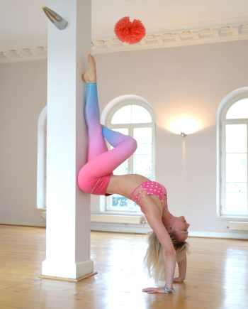 Flexi Lexi Pink Blue Ombré Tights