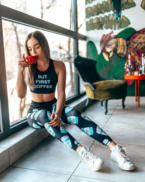 But first Coffee Sports Top
