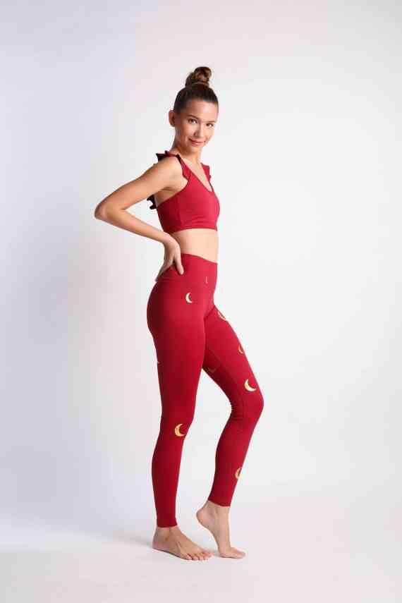 Crescent leggings
