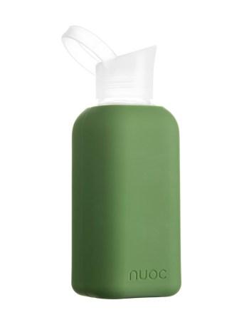 NUOC Rhythm - Drikkeflaske i glass fra NUOC - Oliven grønn