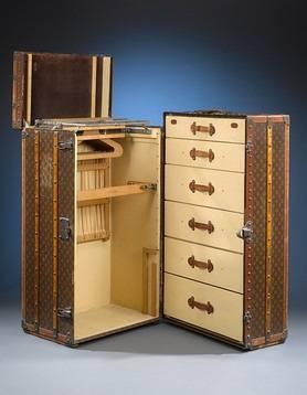louis vuitton s 1920s wardrobe trunk