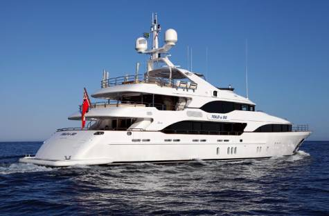 Kirk Lazarus Models His 145 Foot Yacht After A Five Star