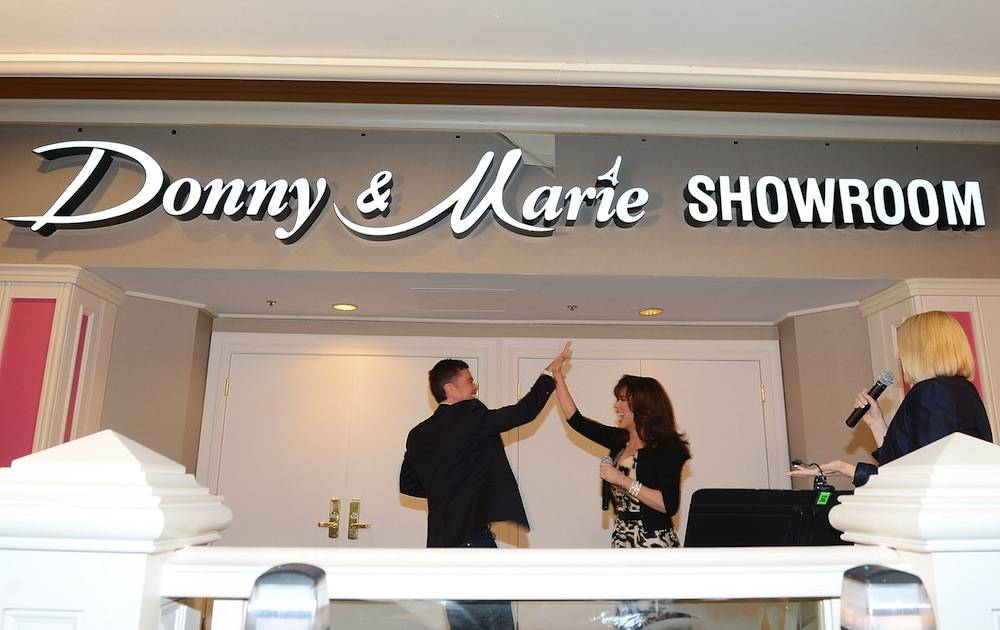 Donny And Marie Showroom