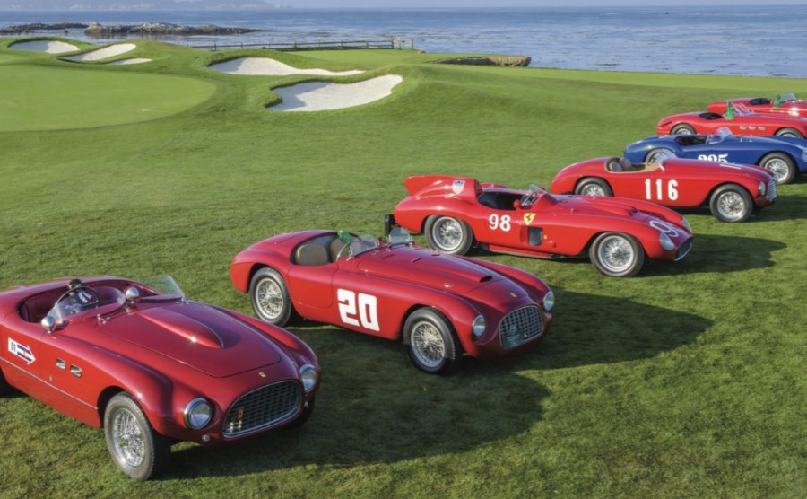 Gearing Up For The Pebble Beach Concours d Elegance Pebble Beach Concours