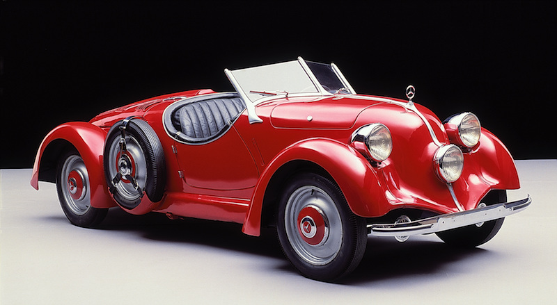 Mercedes-Benz Typ 150 Sportroadster from 1935