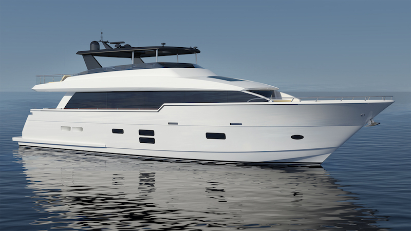 Hatteras Launched The 90 Motor Yacht