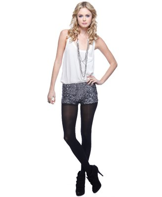 Forever21 Sequin Hot Pants $22.80
