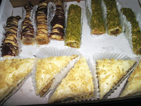 Christmas on the Prado - Baklava