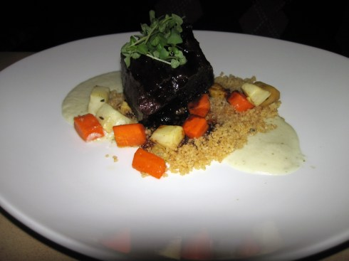 An Dyer The Prado's braised short rib